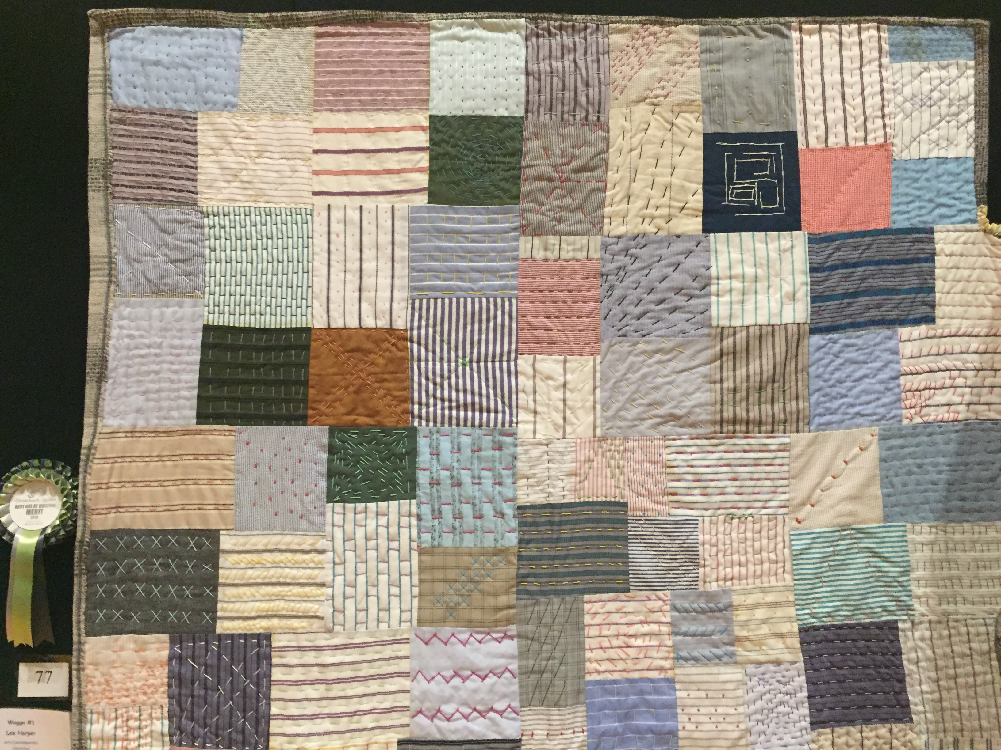 Wagga #1 - Lee Harper - Best use of Quilting - MERIT - Sponsored by Bernina CHCH