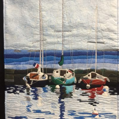 Best Pictorial Sail Boats by Barbara Mckinnon (credit Lenore Crawford)