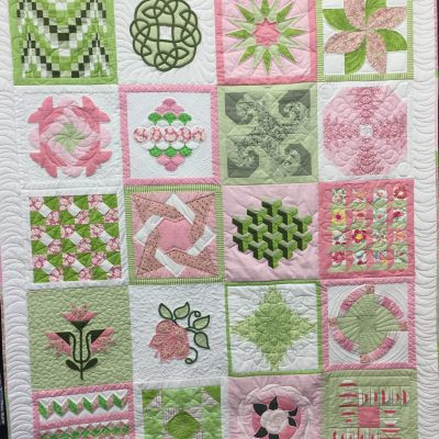 Best Block of the Month BOM Challenge by Kaye Amos