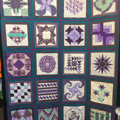 Block of the Month Merit The Challenge by Letitia Bennett